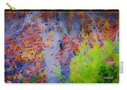 Tree Of Many Colors Carry-all Pouch