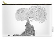 Tree Of Uncertainty Carry-all Pouch