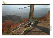 Tree On A Ridge In Bryce Canyon  Carry-all Pouch