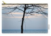 Tree On Beach Carry-all Pouch