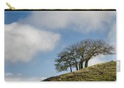 Tree On Hillside Carry-all Pouch