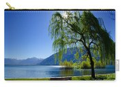Tree On The Lakefront Carry-all Pouch