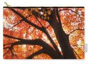 Tree Orange Blast Carry-all Pouch