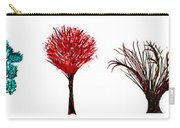 Tree Paintings In Wax Carry-all Pouch