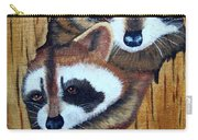 Tree Raccoons Carry-all Pouch