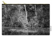 Tree Reflection In Chesapeake And Ohio Canal Carry-all Pouch