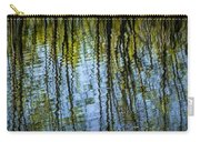 Tree Reflections On A Pond In West Michigan Carry-all Pouch
