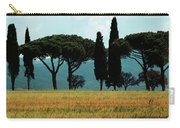 Tree Row In Tuscany Carry-all Pouch by Heiko Koehrer-Wagner