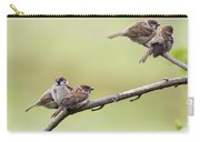 Tree Sparrows Carry-all Pouch