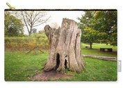 Tree Stump Carry-all Pouch