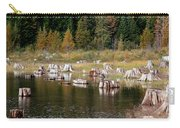 Tree Stumps At Clear Lake Carry-all Pouch