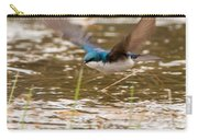 Tree Swallow In Flight Carry-all Pouch