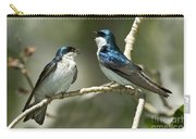 Tree Swallows Singing Carry-all Pouch
