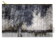 Tree Through Sheer Curtains Carry-all Pouch