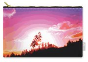 Tree Top Sunrise Carry-all Pouch