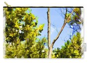 Tree Tops IIi  Digital Paint Carry-all Pouch