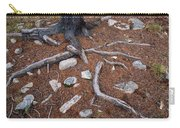 Tree Trunk Roots And Rocks Carry-all Pouch