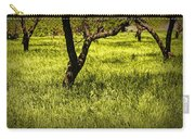Tree Trunks In A Peach Orchard Carry-all Pouch
