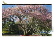 Tree With Pink Flowers Carry-all Pouch