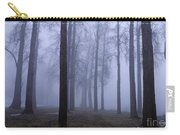 Trees Along Greenlake In Fog Carry-all Pouch