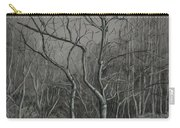 Trees Along The Greenway Carry-all Pouch by Janet Felts