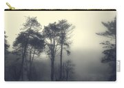 Trees And Fog At Castle Hill Carry-all Pouch