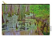 Trees And Knees In Tupelo/cypress Swamp At Mile 122 Of Natchez Trace Parkway-mississippi Carry-all Pouch