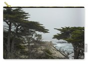 Trees And Mist Carry-all Pouch