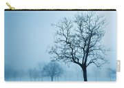 Trees And Snow In Fog, Toronto, Ontario Carry-all Pouch