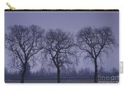 Trees At Night Carry-all Pouch