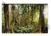Trees At Olympic National Forest Carry-all Pouch