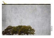 Trees At Sunrise Carry-all Pouch by Carol Leigh