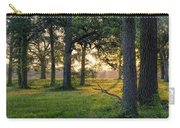 Trees At Sunrise Carry-all Pouch