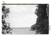 Trees At The Lakeside, Cave Point Carry-all Pouch