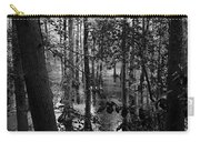 Trees Bw Carry-all Pouch