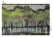Trees By A Stream Carry-all Pouch