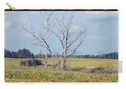 Trees In Field Carry-all Pouch