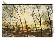 Trees In Marsh, Maine, Usa Carry-all Pouch
