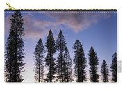 Trees In Silhouette Carry-all Pouch