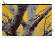 Winter Trees In Yellow Gray Mist 1 Carry-all Pouch