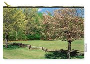 Trees On A Field, Davidson River Carry-all Pouch