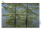 Trees On A Flooding Alpine Lake Carry-all Pouch