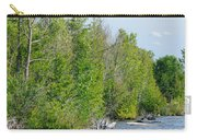 Trees On A Lakeshore Carry-all Pouch