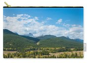 Trees On Canadian Rockies Along Route Carry-all Pouch