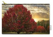 Trees On Fire Carry-all Pouch