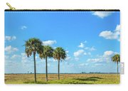 Trees On Landscape, Florida, Usa Carry-all Pouch