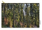 Trees With Moss In The Forest Carry-all Pouch