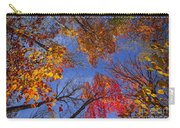 Treetops In Fall Forest Carry-all Pouch