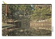 Trestle Over Reflecting Water Carry-all Pouch