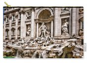 Trevi Fountain In Rome Italy Carry-all Pouch